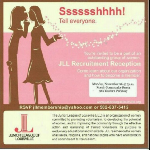 #juniorleaguelouisville #juniorleague  (Taken with Instagram)