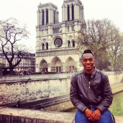 Outside Of Notre Dame In Paris #NVO (Taken with Instagram)