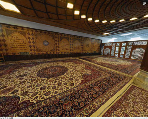 The beautiful design of the prayer area in the library of Imam Reza a.s in Mashad. Too lazy to go over some of the details and concepts of the design, I might edit this post later and write all that up.