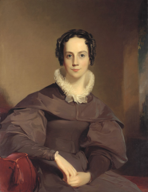 Abbie Ann Cope by Thomas Sully, 1837 US, Pennsylvania Academy of the Fine Arts