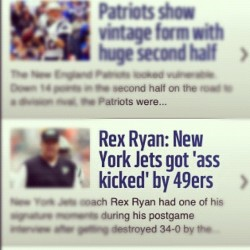 LMAO The Headline Tho… #football #nfl #nyjets #suck #ass #kick  (Taken with Instagram)