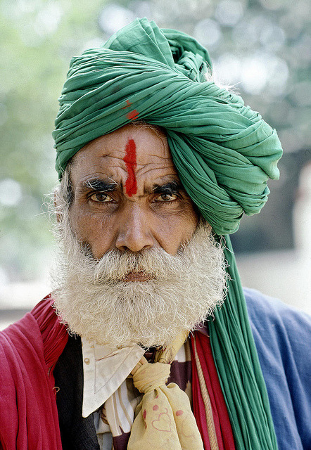 Portrait of Fortuneteller, India by United Nations Photo on Flickr.