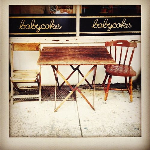 The BEST bakery in New York: vegan, gluten free deliciousness! @BabyCakesNYC (Taken with Instagram)