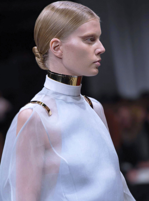 Saara Sihvonen at Givenchy Spring 2013.