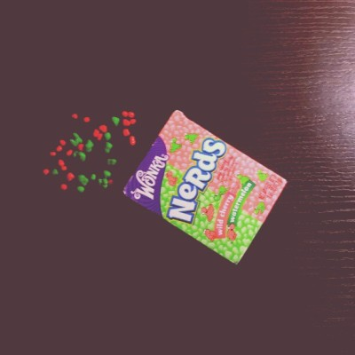 #Sunday #Tiny #Tangy #Crunchy #Candy #Wonka #Nerds #WildCherry #WaterMelon (Tomada con Instagram)