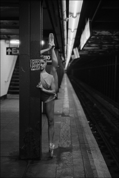 ballerinaproject:  Cassie - 110th Street Become a fan of the Ballerina Project on Facebook. Follow the Ballerina Project on Pinterest