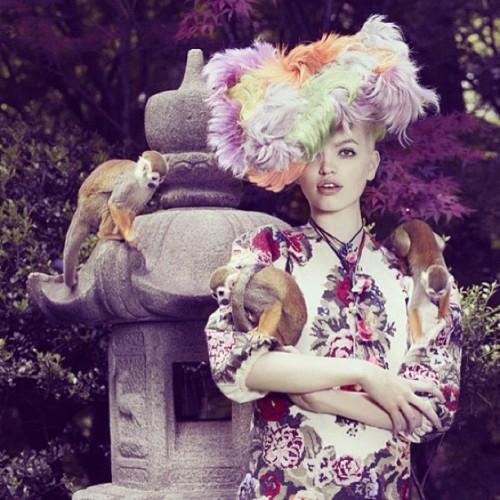 StefaniaPia FLUOnckls on VogueJapan NOVEMBER 2012 styled by Giovanna Battaglia. L o V e #beautiful @giovannabattaglia ❤❤❤❤❤❤❤❤❤ (Taken with Instagram)