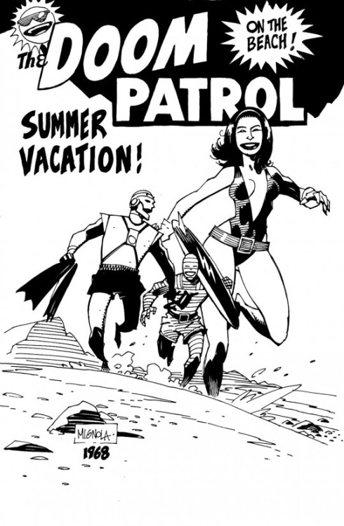 retazosdered:  Mike Mignola - Doom Patrol