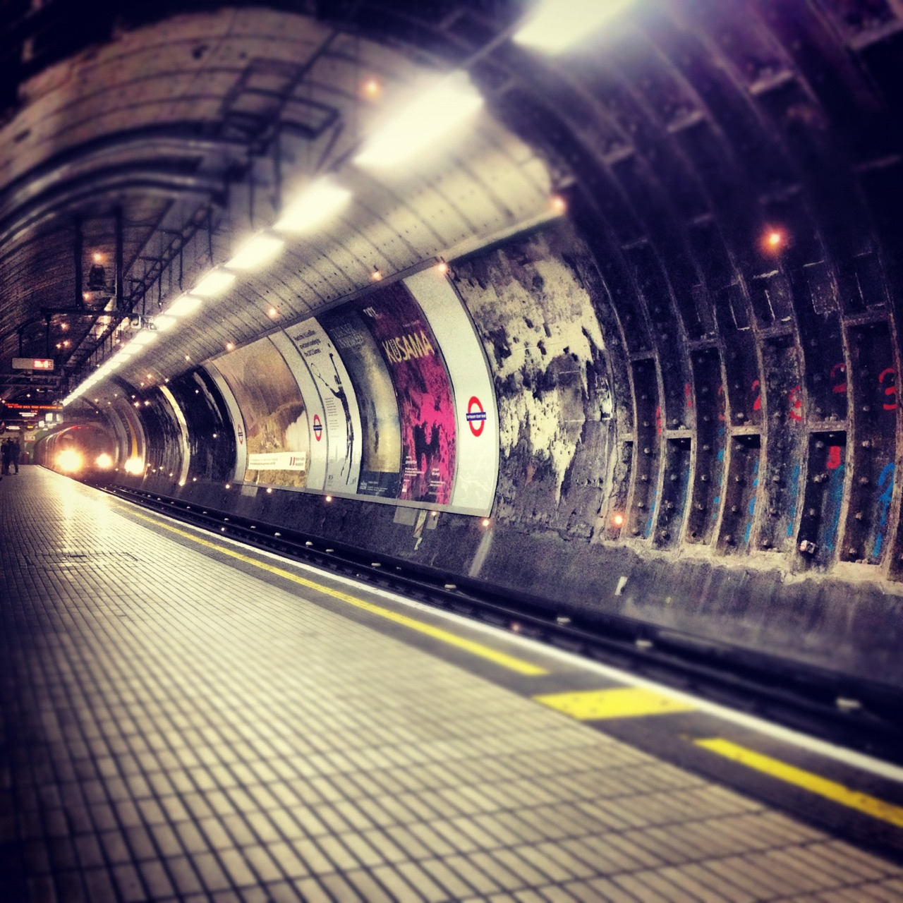 A photo I took on the London Underground.