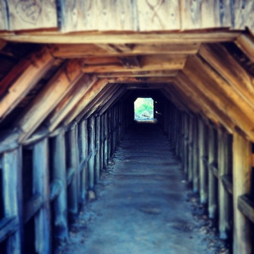 light at the end of the tunnel (Taken with Instagram)