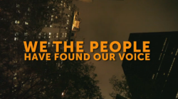 "We the people have found our voice.(NYC General Assembly, September 27, 2011) WATCH ::: http://vimeo.com/30241489 If it's our sharing that makes us powerful, why return to normal?This life is more worth living than the one we left behind.(Leaflet, Solidarity March with Occupy Wall Street, October 5, 2011) How do our voices of dissent encounter each other?Do we really want to merge our raging cacophony into a unified political agenda?What if the voice of the people is always in a mode of becoming?Welcome to the hidden track of Occupy Wall Street:We are discovering new ways in which our desires can resonate together.This space is our sonogram of potential. Find the latest news, learn how to participate, and support:occupywallst.org I was reading a fantastic article on Alain Resnais's Night and Fog ""Documenting the Ineffable"" by Sandy Flitterman-Lewis…i very much recommend it…the closing paragraph included a quote from theologian Abraham Joshua Heschel::: ""be sure that every little deed counts, that very word has power, and that we can, everyone, do our share to redeem the world…build a life as if it was a work of art…and remember that life is a celebration."" …beautiful."