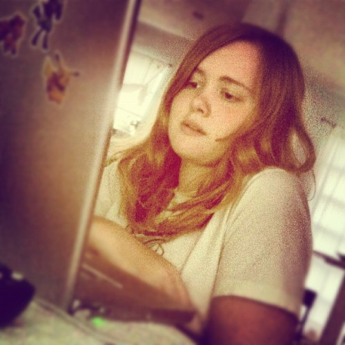Meghan's so pretty c: (Taken with Instagram)