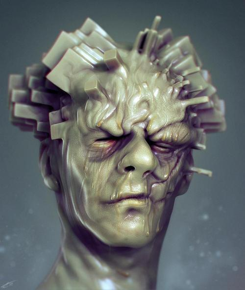 inspiring-the-mind:  (via Growth by Thomas Lishman - 3D Artist)