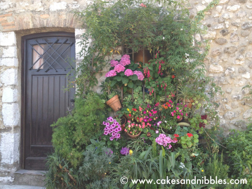 C&N TraveLog: St. Paul de Vence, France (June 2012) We think there's a window somewhere underneath all the foliage…
