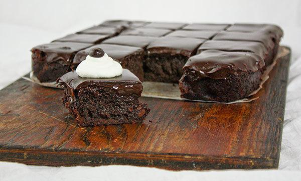 espresso truffle brownies.