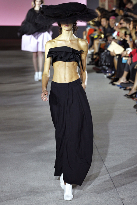 90s flashback: tube tops, and i love it. John Galliano, Spring 2013