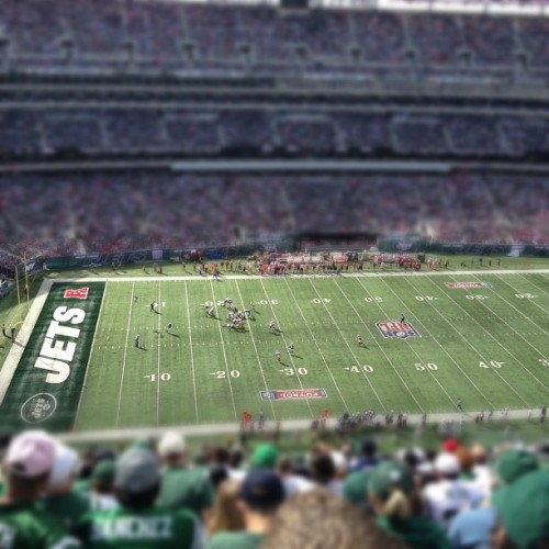 richmacleod:  The Jets may have gotten thoroughly beaten by the 49ers Sunday but at least I got this picture out of it.