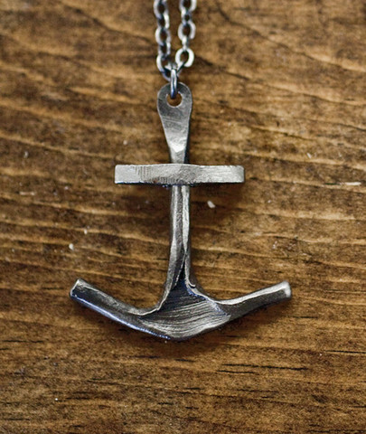 (via CXXVI Clothing Co. — Anchor II Necklace) Want!
