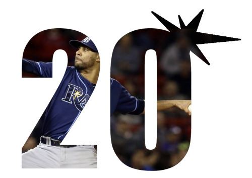 rays-tank:  Today, David Price became the first pitcher in Tampa Bay Rays history to win 20 games.