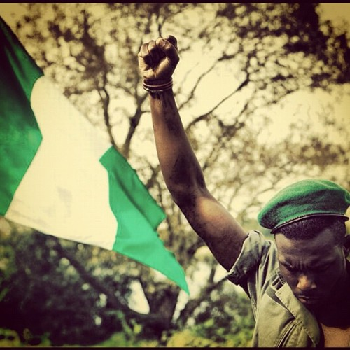 banjifj:  United we stand, divided we fall. #HappyIndependence #Nigeria #GreenWhiteGreen #Naija (Taken with Instagram)