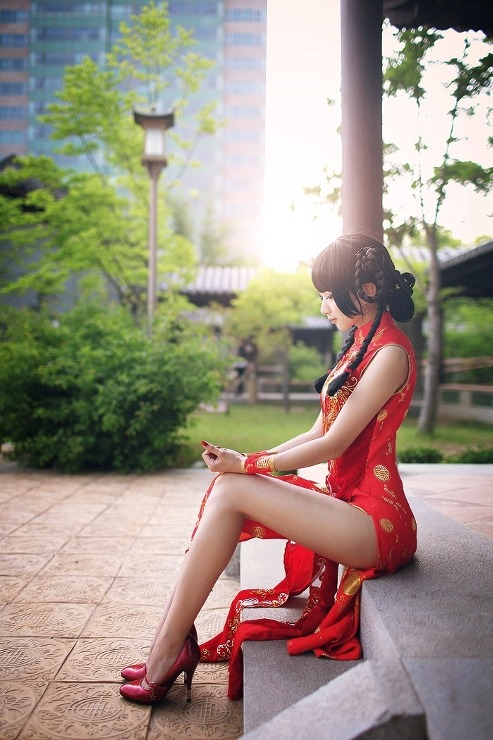 Cosplay: Dead or Alive - Lei Fang