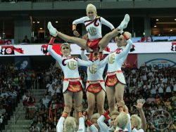 Sadly, my No. 1 UAAP Cheerdance Competition photo is not of the UP Pep Squad. But more of them later.