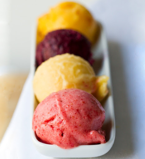 Summer Fruit Sorbet.