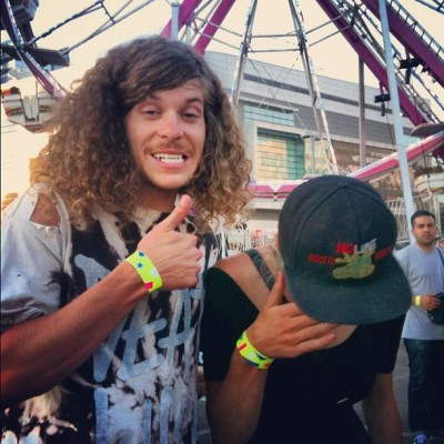 fuckyeah-workaholics:  toriymoi:  This fucking happened #blakeanderson #ofcarnival #workaholics (Taken with Instagram)   crying cause im not thurrr