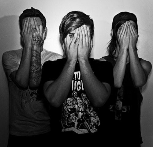 maddmovezz:  Ghost towns beautiful members :)  awww i love this band so much <3