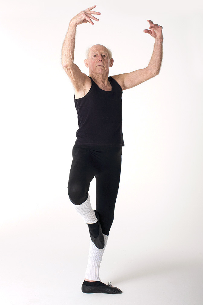 "theballetblog:  John Lowe, age 91   Mr Lowe only took up ballet at the age of 79, but has landed a starring role to celebrate his remarkable life in Strauss's An Artist's Life. The retired soldier, art teacher and theatre director will join dancers more than half his age to perform a routine at Ely Cathedral, in Ely, Cambs.   Mr Lowe, who will perform with the Lantern Dance Theatre Company, only got his first starring role three years ago aged 88. The grandfather of 11, who fought in Malaysia and India in the Second World War before being captured by the Japanese, said he loved performing on stage.   He said: ""Dancing is the most amazing feeling and you come home mentally uplifted after listening to all this brilliant music. It's fantastic exercise too and I remember being in the prisoner of war camp starving and doing hard labour and thinking I might not make it. But look at me now. I love dance and it's going to be a magnificent day at a magnificent venue.""   ""You have to be incredibly fit and I see these people crawling around, hunched over smoking a cigarette. They should be doing ballet."" To maintain his fitness, Mr Lowe has even installed a trapeze on his living room ceiling and hangs from it each morning to increase his muscle power. He also practices three times a week in Ely's Chequer Studio, as well as perfecting his pirouettes and pliés each day at his home in Witchford, near Ely. His home also boasts a ballet bar where he hones his knee-bends and arm movements so he can prime his body for the demands of dancing.     This is amazing and inspiring"