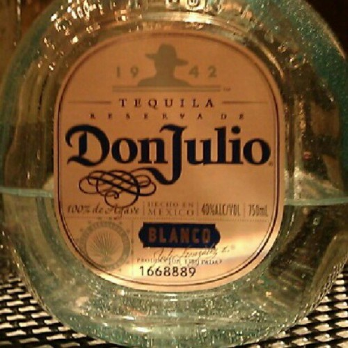 gonna get a shot of this @donjuliotequila in me real quick to get this Sunday night going. We are open! #DTLA  (Taken with Instagram)