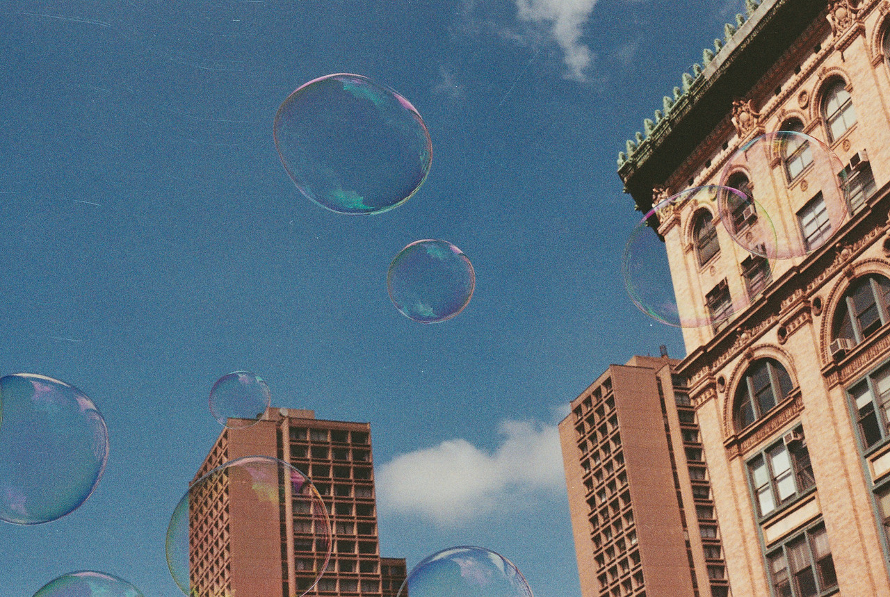 warped bubbles