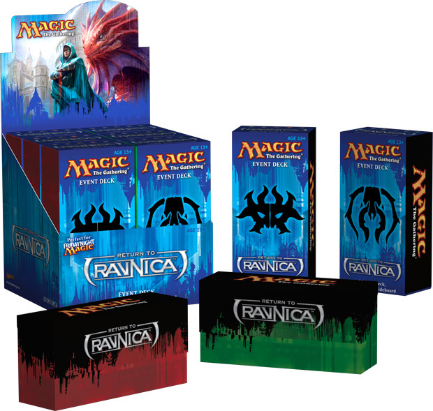 Return to Ravnica Event Deck Decklists