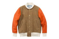 What We Love: Mr. Gentleman English wool varsity jacket #menswear