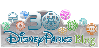 Sweet logo, Disney Parks Blog!