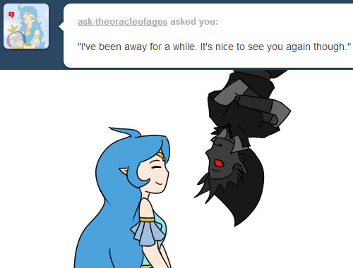 askdarklink:  …………………. eh *cough* yeah it's always nice to see me. What were you doing all this time, anyway? *gets back into the celling and re-appears from the ground* [previous]  (( euijkdslkauedjsk SHIPPING ))