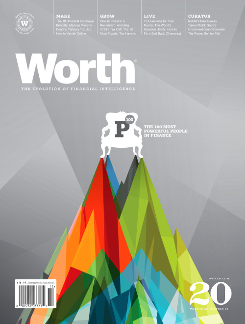 magazinewall:  Worth (New York, NY, USA)