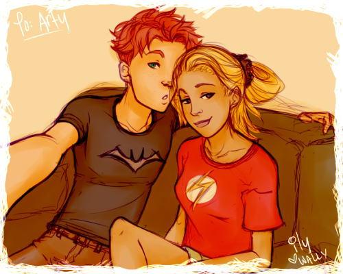 midolar:  I fail as Wally—I'm so inactive. I couldn't get on tumblr/dA like at all today.ARTY, BBY, FORGIVE ME.  On another note—if you recognize me/my style from somewhere else, you get a free doodle ok. 'Cause I know you want a crappy free doodle. Ttly.