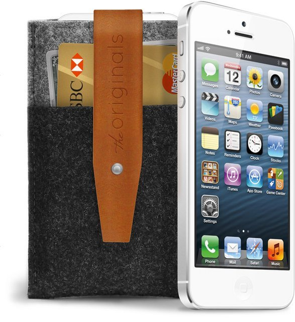 Mujjo iPhone 5 Wallet Brown > http://j.mp/UBDBDN