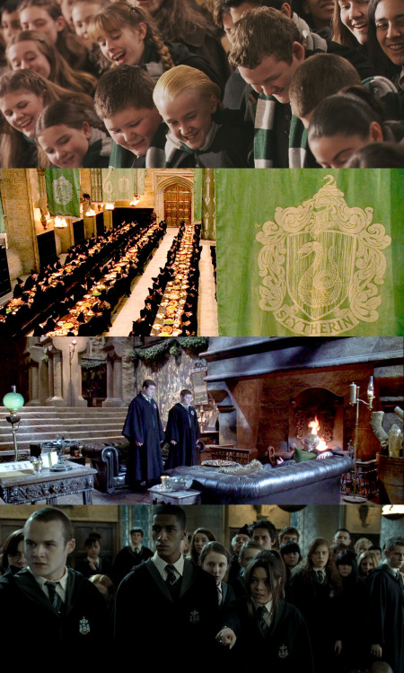shoutitfromthehills:  the magic begins » 5 - Favorite house. Slytherin