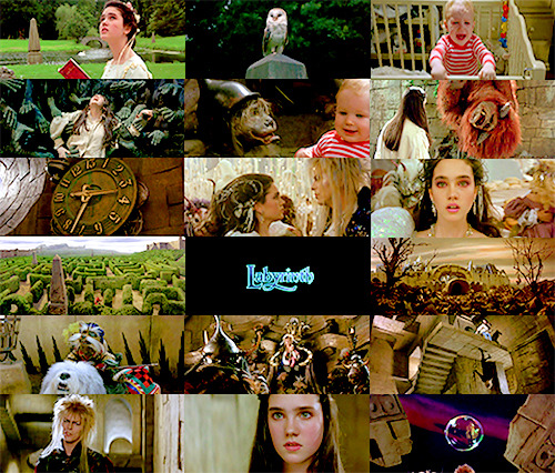 Fangirl Challenge- [10] movies: Labyrinth  Just fear me, love me, do as I say and I will be your slave.