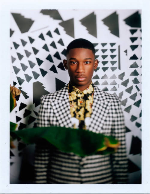Harry Uzoka shot by Jeff Hahn for SCMP Style Magazine