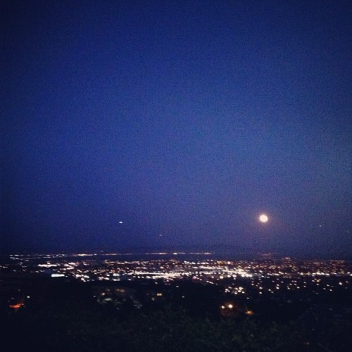 Goodnight Moon. Goodnight Bay.  (Taken with Instagram)