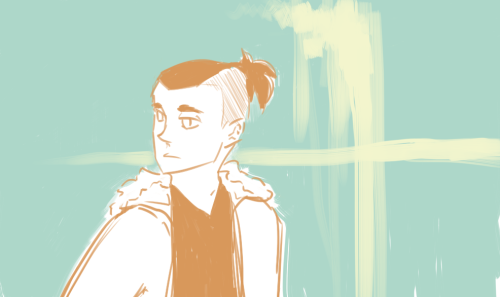 A wild Sokka appearedDon't ask me why he looks kind of sad because I don't even know