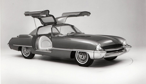 1962 Ford Cougar 406 Concept Car by aldenjewell on Flickr.1962 Ford Cougar 406 Concept Car (2)