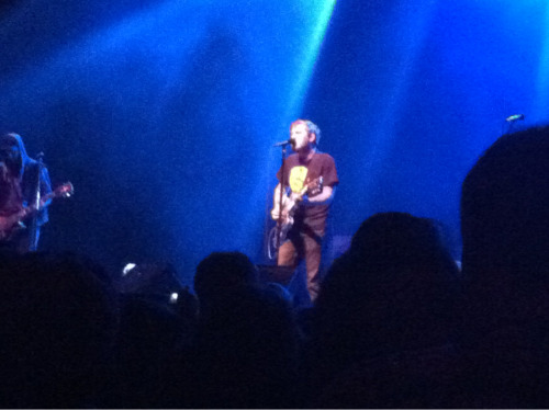 The Gaslight Anthem, Brian Fallon at the Fox in Oakland, CA.