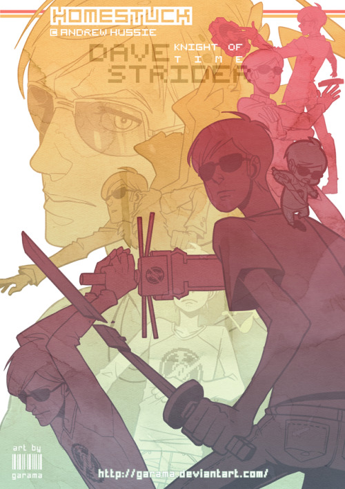 killthepastshootthefuture:  Dave Strider - Knight of Time by Garama