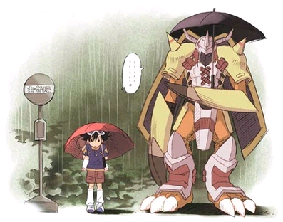 And Digimon references… CLASSIC!