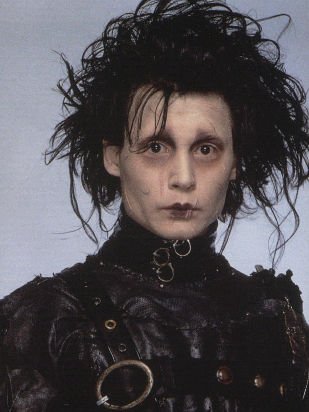 ICONIC HAIR SUNDAY: EDWARD SCISSORHANDS Edward Scissorhands (1990), directed by: Tim Burton