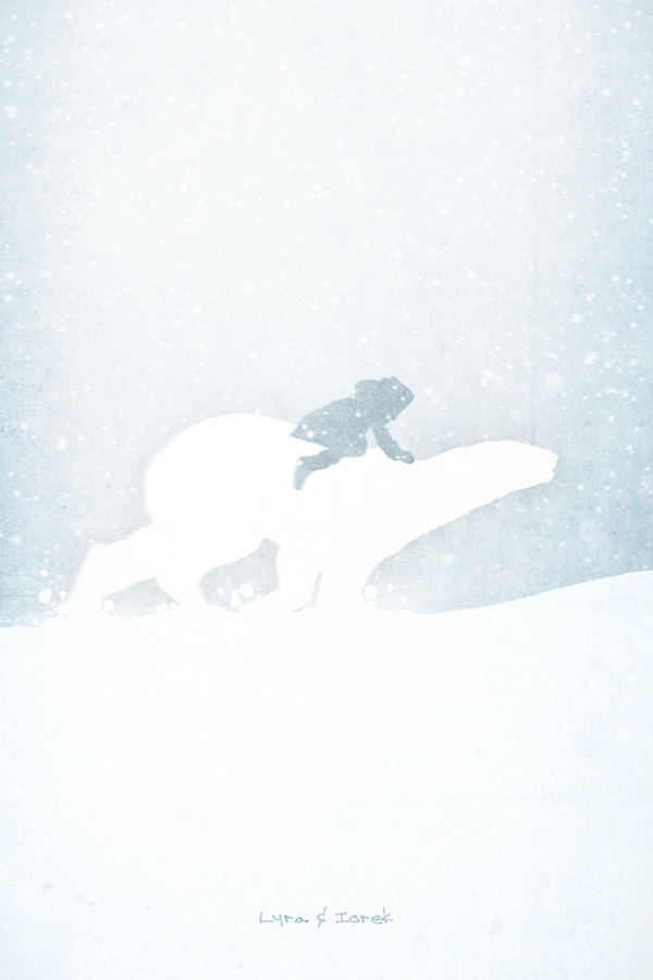 The Golden Compass inspired 13x19 inch Movie Print.  Available to buy at my Etsy store.  Find me on Facebook too.